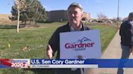 Sen. Cory Gardner Waves To Voters On Election Day