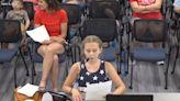 Child scolds school board about BLM posters in school despite 'no politics' rule