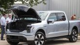 Dallas gets its first look at the all-electric, super buzzy F-150 Lightning