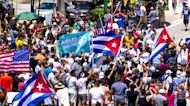 Thousands take to the streets in Cuba demanding food, medicine, freedom