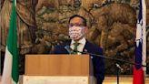 駐義代表:若台灣垮了 將是國際的災難(圖) - 劉世民 - 時政聚焦