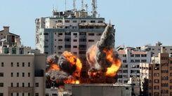 加薩辦公室遭炸毀 美聯社:震驚