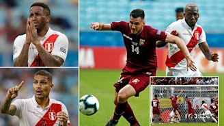 Venezuela 0-0 Peru: Gonzales and Farfan have goals ruled out by VAR
