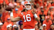 Will Trevor Lawrence stay at Clemson to avoid the Jets? | Yahoo Sports College Podcast