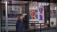 Empty storefronts transformed into galleries to support artists