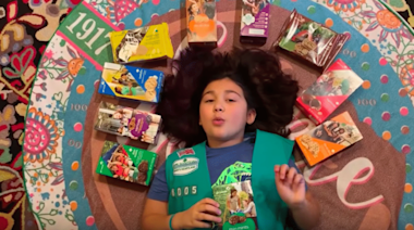 9-Year-Old Remixes 'Truth Hurts' To Sell Girl Scout Cookies