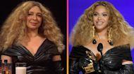 Maya Rudolph Brings Her Beyoncé Impression Back to 'SNL' for 'Hot Ones' Sketch