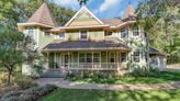 Mansion on the Market: Covered front porch, multi-level deck on St. Cloud home