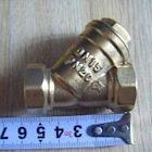 4分過濾器 DN15 Y型全黃銅 家用水泵配件