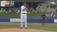 Tylor Megill's minor league highlights: Top Mets pitching prospect can deal