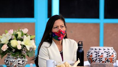 Native Leaders Tell Tearful New Interior Secretary Deb Haaland She's a 'Formidable Guardian'