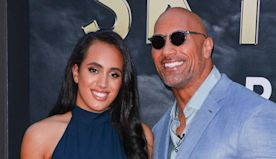 Dwayne Johnson's daughter realises dream of following dad into wrestling