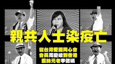 親共人士染疫亡 從台灣愛國同心會會長周慶峻到香港藍絲元老李偲嫣