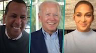 Jennifer Lopez & Alex Rodriguez Join Joe Biden For A Virtual Chat About Voting