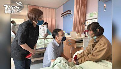 高雄探病遭拒! 朱酸:總統打高端疫苗才能進去│TVBS新聞網