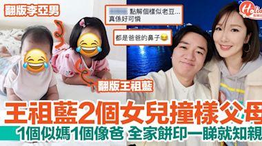王祖藍晒女兒合照 兩姊妹同父母如餅印!一個似媽媽一個像爸爸!   HolidaySmart 假期日常