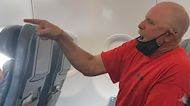 Video shows unruly passenger yelling at crew American Airlines flight