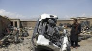 Afghan scrap dealers lament U.S. policy of trashing military hardware