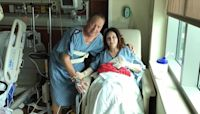 16 years after her late husband's donated organs saved a life, she gave her kidney to save the life of the same man