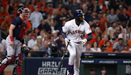 'Because of them, we're here now': Astros' young stars, led by Yordan Alvarez, lead old guard back to World Series