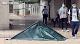 屯門市廣場命案單位鎖上鐵鏈 鄰居對事件感錯愕   社會事