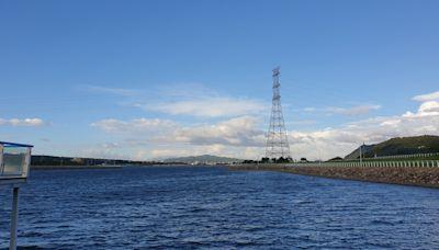圓規颱風為石門水庫添上億噸水 吃飽飽!今天仍滿水位