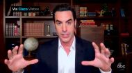 Sacha Baron Cohen thought Golden Globe virtual rooms were 'incredibly awkward'