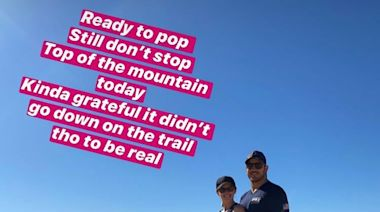 Chris Pratt Says Pregnant Wife Katherine Schwarzenegger Is 'Ready to Pop' as They Enjoy Hiking Date