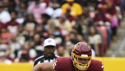 Washington has one of the best offensive lines in the NFL according to Pro Football Focus