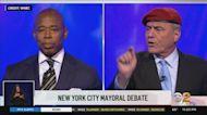 Eric Adams, Curtis Sliwa Face Off In 1st Mayoral Debate