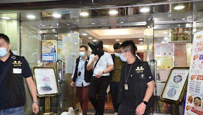 聯合道一食肆近百黑幫人士違限聚令被票控 警帶走5人