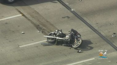 Person Killed In I-95 Motorcycle Crash Near Pembroke Park