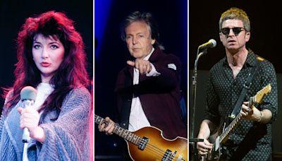Paul McCartney, Kate Bush, Noel Gallagher Sign Letter Urging Streaming Revenue Reforms