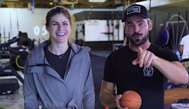 Zac Efron & Rumored Ex Alexandra Daddario Reunite For Sweaty Joint Workout — Watch