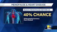 Woman's Doctor: Early onset menopause linked to heart disease