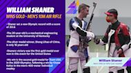 William Shaner wins gold in the Men's 10M Air Rifle competition