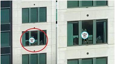 商辦大樓上班族直擊活春宮 對面飯店「男女貼窗做愛」遭錄瘋傳