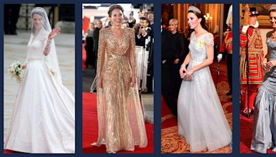 Kate Middleton's All-Time Best Formal Gowns