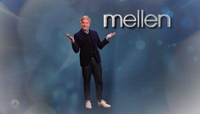 'SNL': Jason Sudeikis Skewers 'Ellen' With Male Spinoff Featuring Joe Rogan Wild Boar Cooking Segment