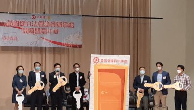黃國健開新議辦 冀本屆任期後退休