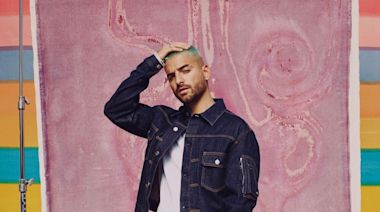 Maluma Becomes First Man to Be on the Cover of Elle : 'Let's Keep Dreaming and Achieving'