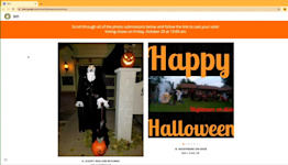Porterville residents able to vote for best Halloween home decorations