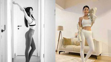 特快速瘦大腿操!香港最紅健身YOUTUBER Coffee林芊妤的超細大腿、小蠻腰原來是這樣瘦的!