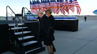 Trump's farewell after 'an incredible four years'
