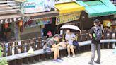 新竹內灣老街現人潮 微解封!遊客仍不敢戶外用餐 | 蘋果新聞網 | 蘋果日報