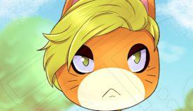 Fan Art of Brie Larson's Captain Marvel In Animal Crossing Looks Like Goose The Cat