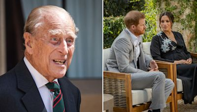 Prince Philip thought Harry and Meghan's Oprah interview was 'madness' and 'no good would come from it'
