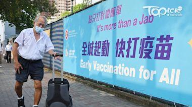 【新冠疫苗】再多約6.7萬人接種疫苗 累計接種逾534萬劑疫苗 - 香港經濟日報 - TOPick - 新聞 - 社會