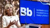 Jill Biden pays tribute to Barbara Bush as she talks about challenges of being first lady