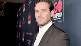 Armie Hammer Drinks Goat Milk From Udder with Bear Grylls